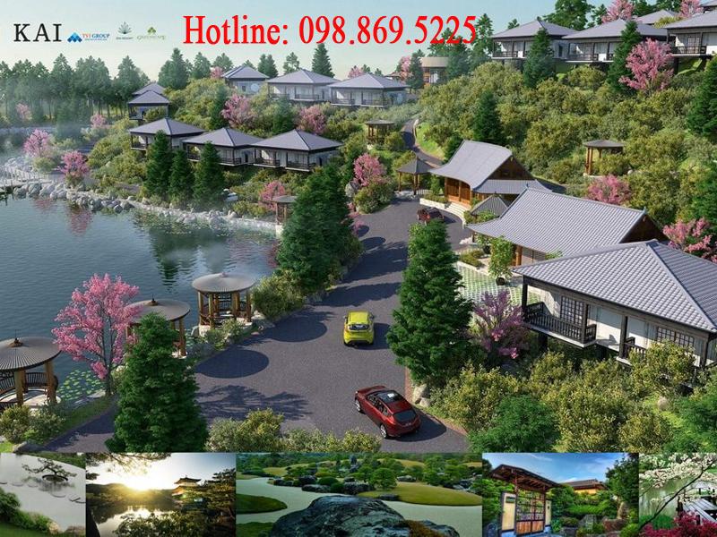 Kai Resort Hoà Bình - Biệt thự nghỉ dưỡng đẳng cấp mang phong cách nhật bản