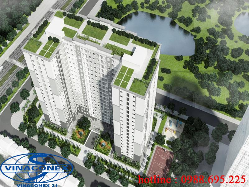 Nhà ở xã hội Kiến hưng Lucky House Hà Đông (CĐT Vinaconex21)