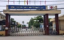 Cực hiếm! Bán đất sát cổng Bệnh viện Huyện Quốc Oai.DT:63m2.MT:3.5m.120tr/m2.LHCC:0983406368