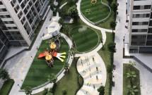 Chính chủ Cho thuê căn góc, 76.5m2, 3PN, 2WC, Giá 8 tr/tháng tại Vinhomes Ocean Park LH 0988621688