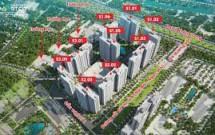 Chuyển nhượng lại căn chung cư tại toà S3.01 tầng 21 khu đô thị Vinhommes smart City Tây Mỗ, Hà Nội,